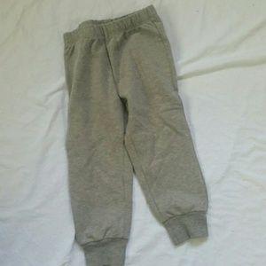 IL Gufo gray knit stretch bottoms leggings sz 18m